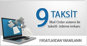 Mail Order ile 9 taksit imkanı